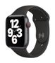 APPLE AW SE GPS Cell 44mm Space Gray Alu Case Black Sport Band