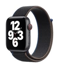 APPLE AW SE GPS Cell 44mm Space Gray Alu Case Charcoal Sport Loop