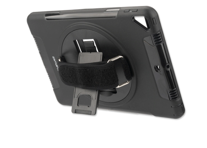 4smarts 4Smarts GRIP Case, Sort robust håndstrapp,  for iPad 2019 (4S467806)