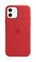 APPLE iPhone 12/12 Pro Silicone Case with Magsafe (PRODUCT)RED