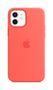 APPLE iPhone 12/12 Pro Silicone Case with Magsafe Pink Citrus
