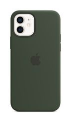 APPLE iPhone 12/12 Pro Silicone Case with Magsafe Cypress Green