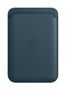 APPLE iPhone Leather Wallet with Magsafe Baltic Blue