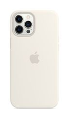 APPLE iPhone 12 Pro Max Silicone Case with Magsafe White