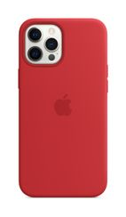 APPLE iPhone 12 Pro Max Silicone Case with Magsafe (PRODUCT)RED