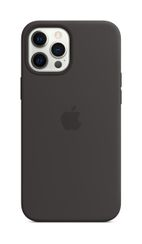 APPLE iPhone 12 Pro Max Silicone Case with Magsafe Black
