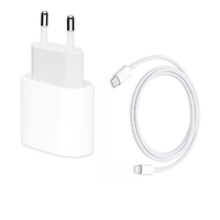 APPLE Pakke: 20 Watts lader + USB-C Lightning kabel