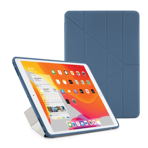 PIPETTO Pipetto Origami Case TPU backside iPad 10.2 Navy Blue (P052-51-7)