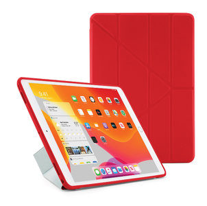 PIPETTO Pipetto Origami Case TPU backside iPad 10.2 Red (P052-53-7)