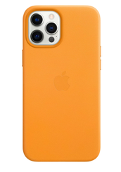 APPLE iPhone 12 Pro Max Leather Case with Magsafe California Poppy
