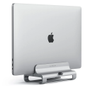 Satechi Satechi Aluminum Vertical Laptop Stand Universal Silver