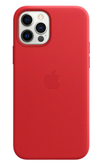APPLE iPhone 12/12 Pro Leather Case with Magsafe (PRODUCT)RED