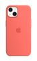 APPLE iPhone 13 Silicone Case with MagSafe Pink Pomelo
