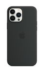 APPLE iPhone 13 Pro Max Silicone Case with MagSafe Midnight
