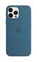 APPLE iPhone 13 Pro Max Silicone Case with MagSafe Blue Jay