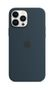 APPLE iPhone 13 Pro Max Silicone Case with MagSafe Abyss Blue