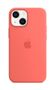 APPLE iPhone 13 mini Silicone Case with MagSafe Pink Pomelo