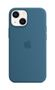 APPLE iPhone 13 mini Silicone Case with MagSafe Blue Jay
