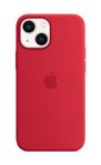 APPLE iPhone 13 mini Silicone Case with MagSafe (PRODUCT)RED