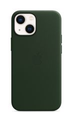 APPLE iPhone 13 mini Leather Case with MagSafe Sequoia Green