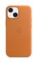 APPLE iPhone 13 mini Leather Case with MagSafe Golden Brown