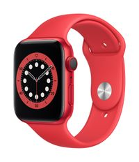 APPLE EOL AW Series 6 GPS Cell 44mm (RED) Alu Case (RED) Sport Ban