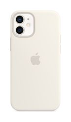 APPLE iPhone 12 mini Silicone Case with Magsafe White