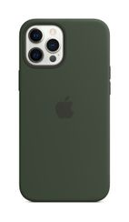 APPLE iPhone 12 Pro Max Silicone Case with Magsafe Cypress Green