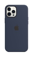 APPLE iPhone 12 Pro Max Silicone Case with Magsafe Deep Navy