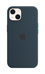 APPLE iPhone 13 Silicone Case with MagSafe Abyss Blue