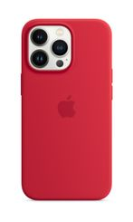 APPLE iPhone 13 Pro Silicone Case with MagSafe (PRODUCT)RED