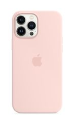 APPLE iPhone 13 Pro Max Silicone Case with MagSafe Chalk Pink
