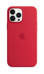 APPLE iPhone 13 Pro Max Silicone Case with MagSafe (PRODUCT)RED
