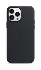 APPLE iPhone 13 Pro Max Leather Case with MagSafe Midnight