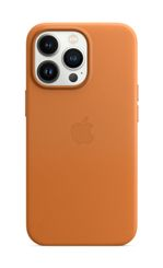 APPLE iPhone 13 Pro Leather Case with MagSafe Golden Brown