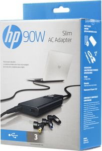 HP 90W Slim AC Adapter Factory Sealed (H6Y83AA#ABY)