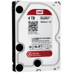 "WESTERN DIGITAL WD Red 4TB NAS Harddrive SATA 6Gb/s (SATA 3.0), 64MB, 3.5"", 24x7 reliability,  IntelliPower,"