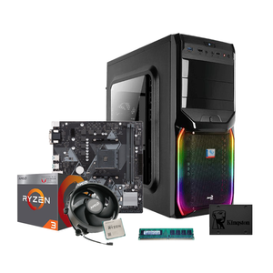 Parts A1 | AMD Ryzen 3 2200G (3,50GHz) | 8GB D4 2400MHz | iGPU VEGA 8 | 240GB SSD | NO ODD | RGB (La-Parts A1)