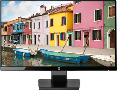 "HP 22w - LED-skärm - 21.5"" (21.5"" visbar) - 1920 x 1080 Full HD (1080p) - IPS - 250 cd/m² - 1000:1 - 5 ms - HDMI, VGA - svart onyx (1CA83AA#ABB)"