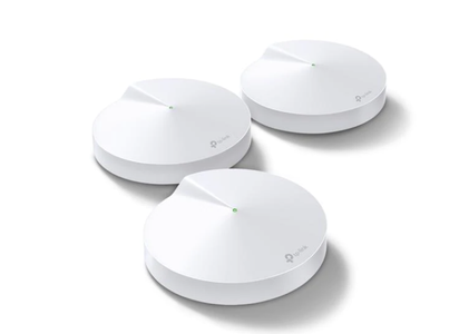 TP-LINK Deco M9+ Mesh system 3 noder, AC2200,  Tri-band, 2 port, Backhaul, Bluetooth 4.2, ZigBee (Deco M9 Plus(3-Pack)-V2)
