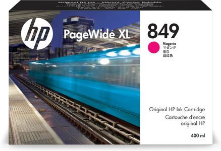 HP 849 400-ml Mag PageWide XL Ink Crtg (1XB37A)