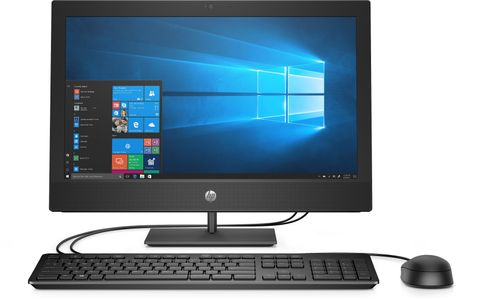 HP ProOne 400 G5 NT  i5-9500T/ 8GB/ 256GB M,2 PCIe NVMe/ W10p64/ DVD-WR/ 1yw/ USB  Slim kbd/ mouseUSB/ Fixed Tilt Stand/No MCR/Intel 9560 AC 2x2 nvP BT/Sea (7EM55EA#UUW)