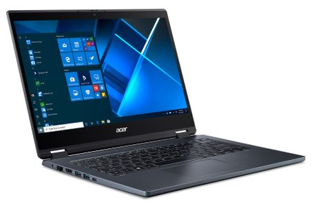 "ACER TravelMate Spin P414RN-51-54HA - Intel® Core"" i5-1135G7 - 14"" FHD IPS - 8GB DDR4 - 256GB PCIe NVMe SSD - Intel® Iris X Graphics - 802.11ax - BT5.0 - FHD Cam - IR - 3 Cell - 13 Hours - Finger Print, TP (NX.VP5ED.003)"