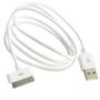 ZETMAC 30 Pin Cable USB white 1 meter