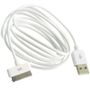 ZETMAC 30 Pin Cable USB white 3 meter