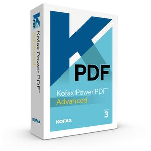 KOFAX Li/Power PDF 3 Adv Volume Gov Level C (LIC-AV09Z-T00-3.0-C)