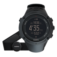 SUUNTO Ambit3 Peak HR GPS watch w/heart rate monitoring option, weather functions and mobile connection