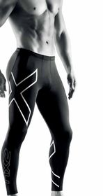 2XU Elite Compression Herr - Tights (MA1936B-XL)