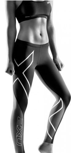2XU Elite Compression Dame - Tights (WA1937B-XS)