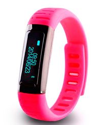 Fitwatch R80 - Smartarmband - Rosa